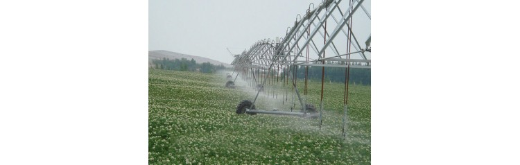 Система дождевого орошения кругового действия на 10 гектар