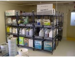 Хранение удобрений и химикатов